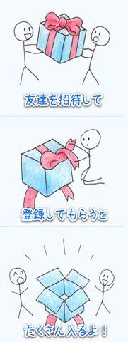 Dropboxのかわいい絵